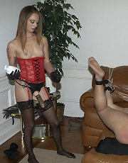 Whipped Wimp with Mistress Emily